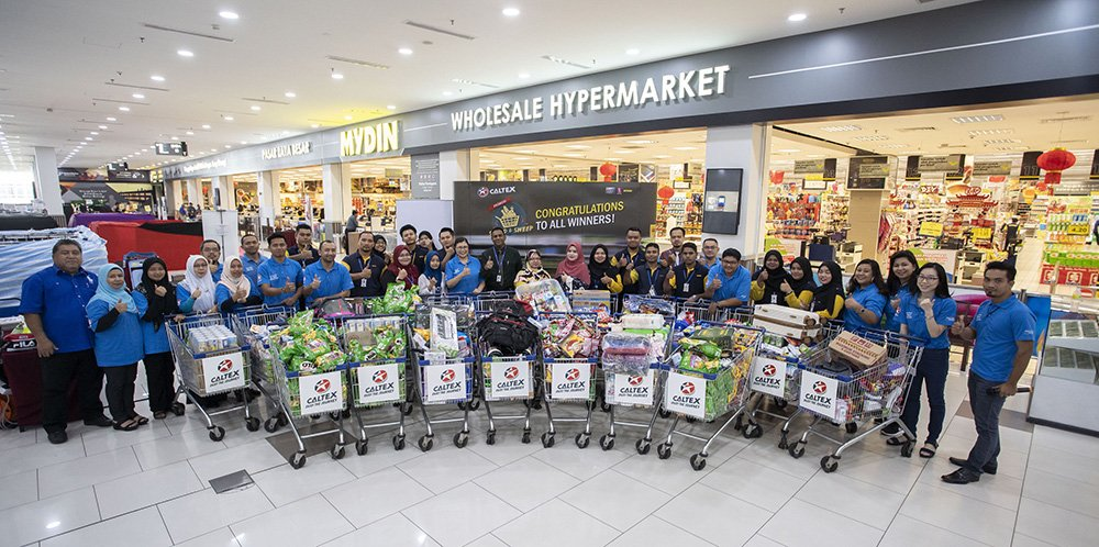 It's Now or Never!  Grab Your Chance to win a shopping spree worth RM3,000 at MYDIN!