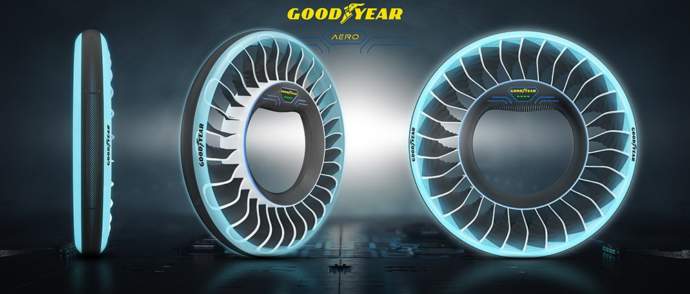 The Goodyear AERO – A Concept Tyre for Autonomous, Flying Cars