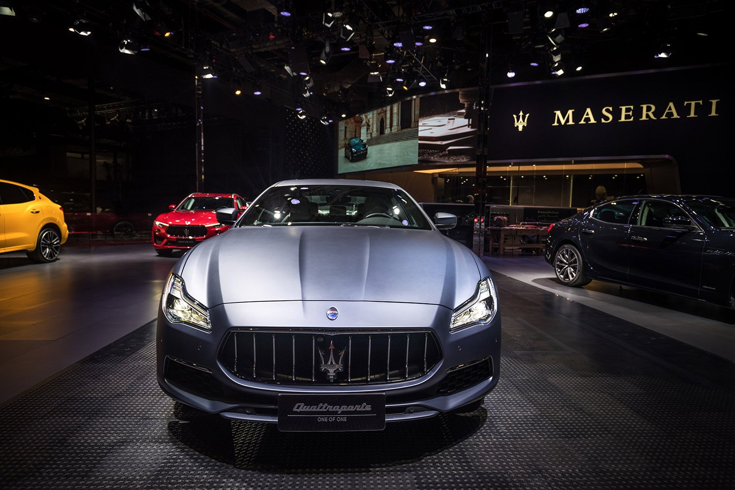 Maserati Quattroporte GranLusso:  A ONE OF ONE for an exceptional customer at the Shanghai Auto Show 2019