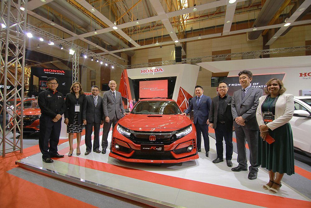 HONDA CIVIC TYPE R MUGEN CONCEPT  PREMIERING FOR THE FIRST TIME IN SOUTHEAST ASIA  AT MALAYSIA AUTOSHOW 2019