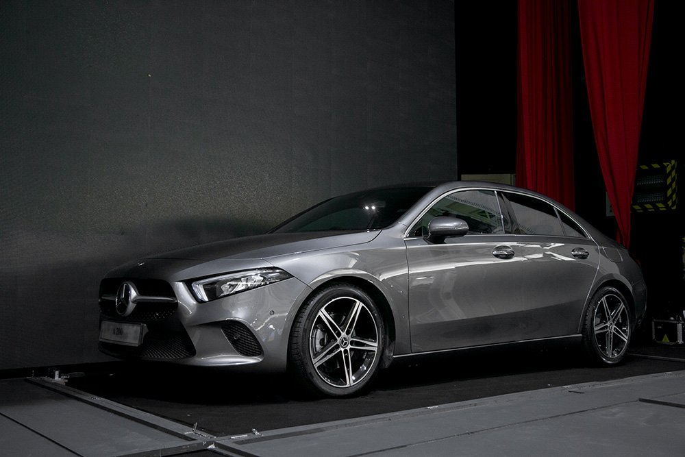 The New Compact, Sporty Mercedes-Benz A-Class Limousine