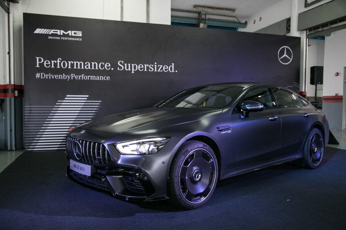 The new Mercedes-AMG GT 4-door Coupé: Street legal racer meets Gran Turismo