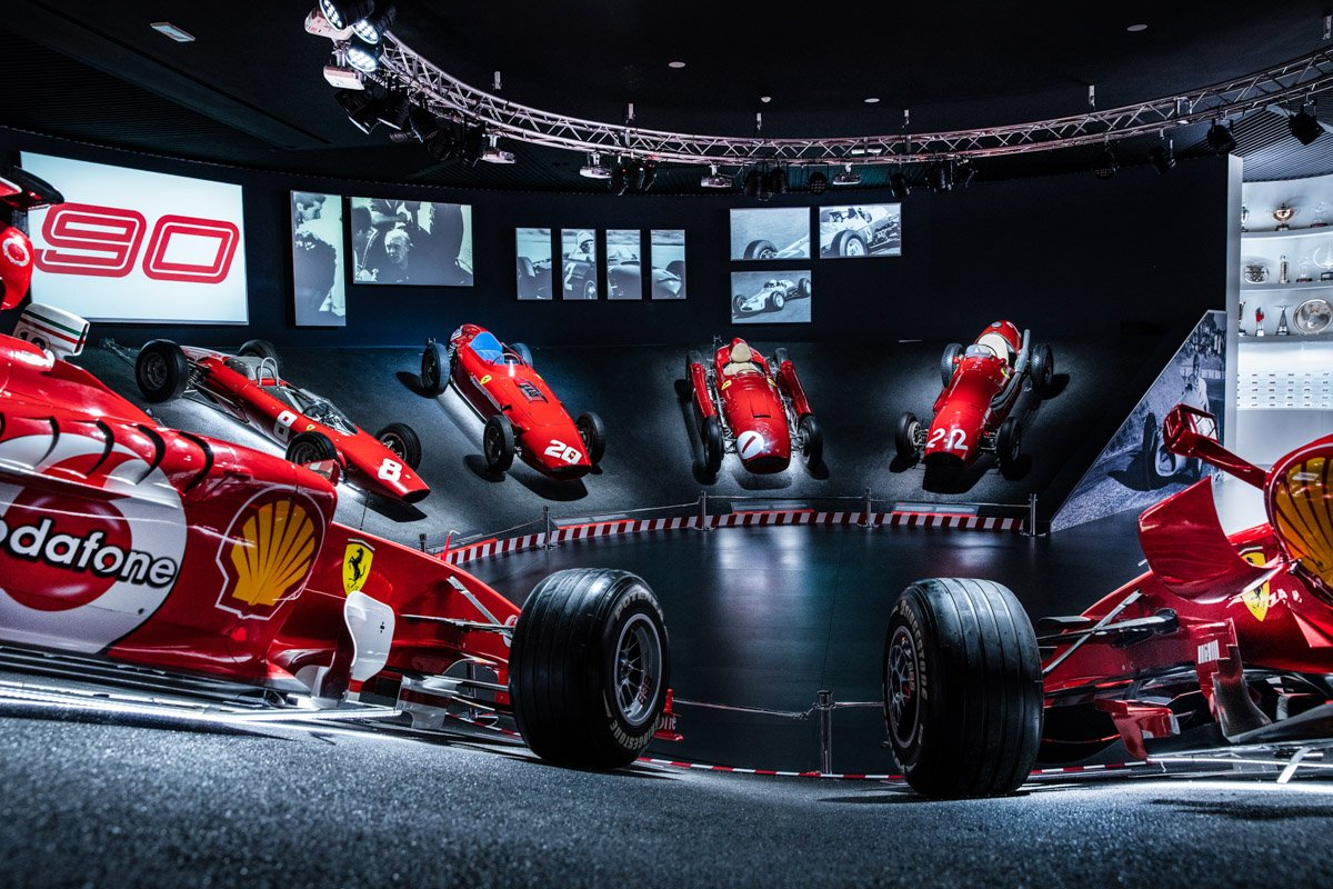 "Ferrari Museum celebrates Scuderia Ferrari's landmark anniversary  with the ""90 Years Exhibition"""