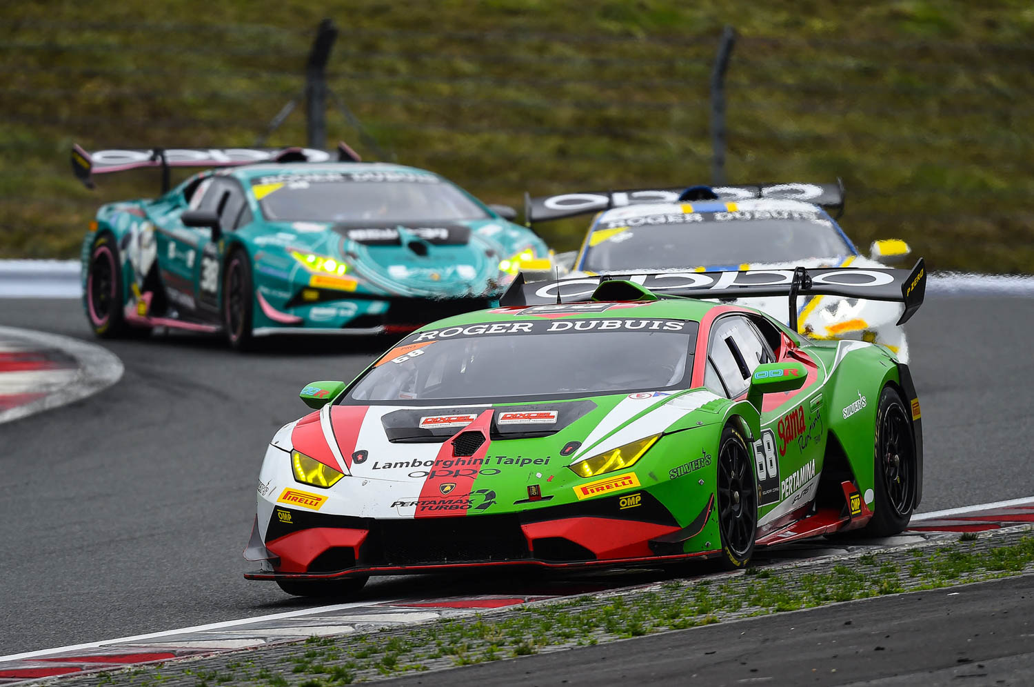 Lamborghini Super Trofeo Asia Race 5 victory in Fuji for Gama Racing duo van der Drift and Chen