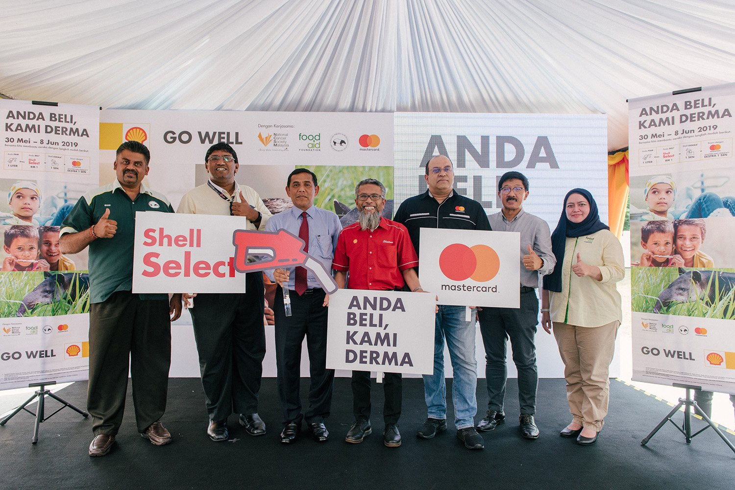 SHELL'S 'ANDA BELI, KAMI DERMA' RAYA CHARITY CAMPAIGN RAISES RM1.92MIL TO SPREAD THE SPIRIT OF CARING AND SHARING