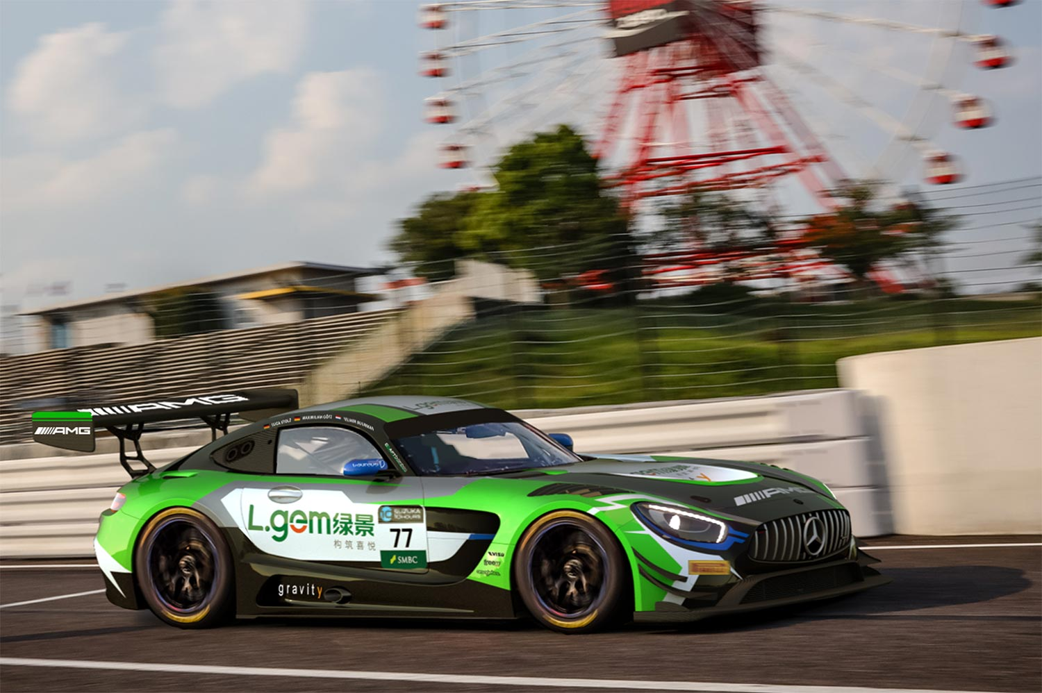 Mercedes-AMG Team Craft-Bamboo Racing confirms star line-up for Suzuka 10 Hours