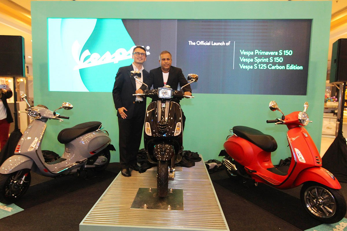 VESPA MALAYSIA LAUNCHES THREE SPORTY AND STYLISH SCOOTERS