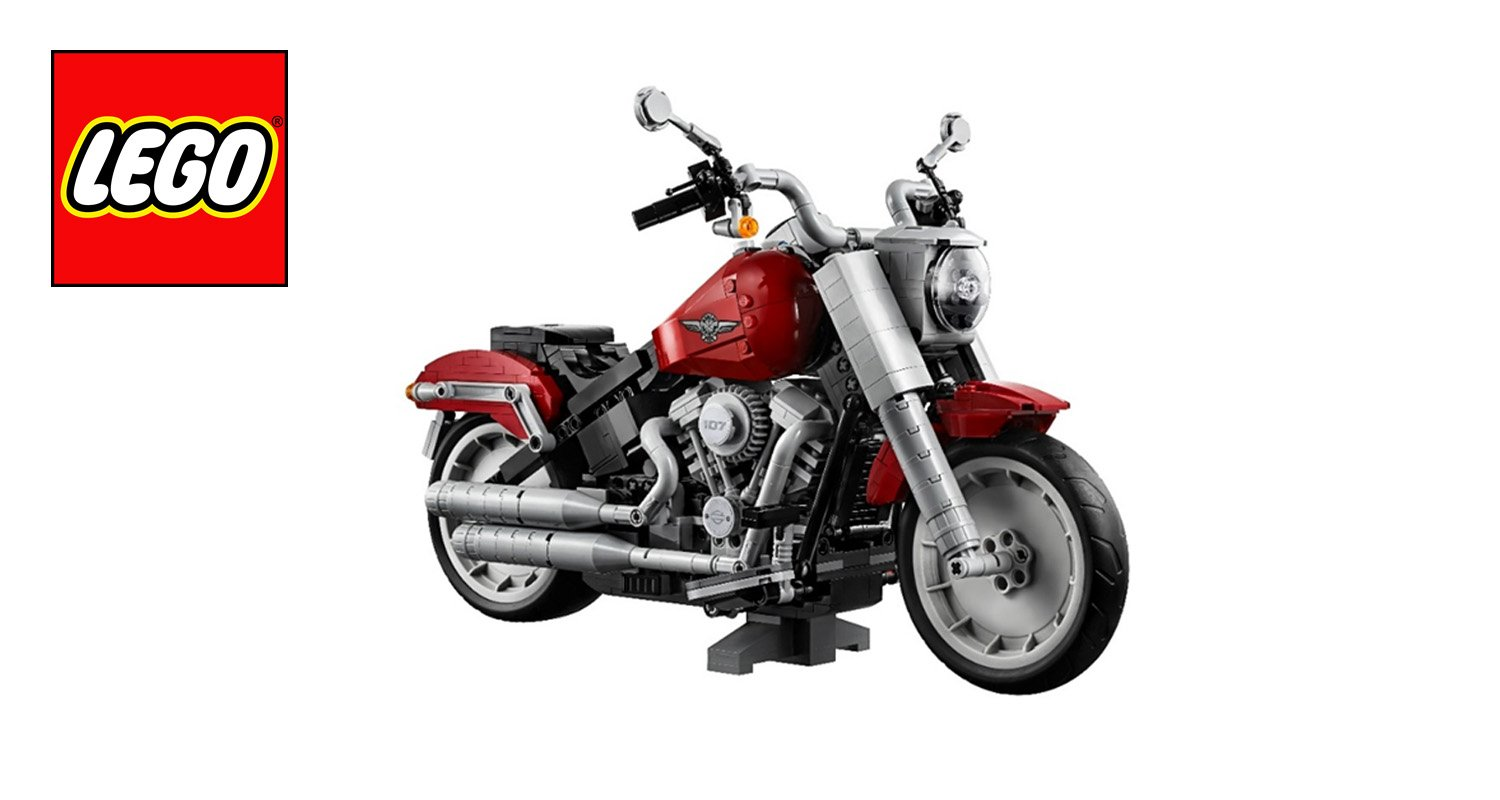 LEGO'S HARLEY-DAVIDSON FAT BOY  IS CRUISING TO MALAYSIA.