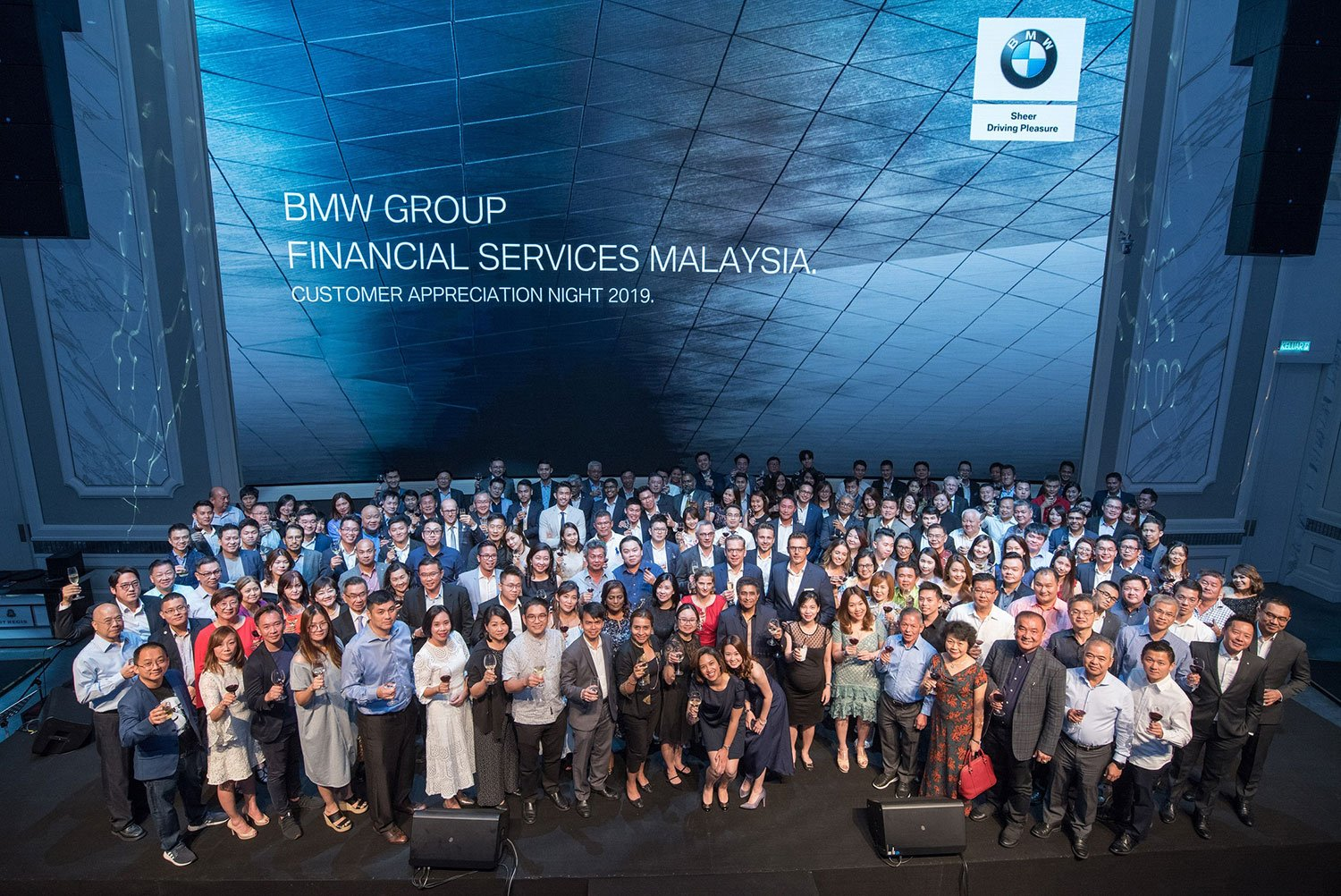 BMW Group Financial Services Malaysia Hosts Appreciation Night of Joy and Unity to Celebrate Corporate Customers.