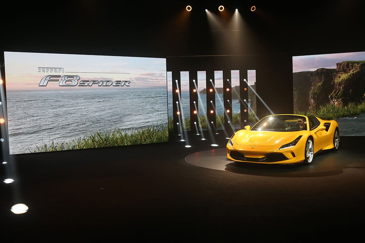The Ferrari F8 Spider: the evolution of the species The mid-rear-engined drop-top powered by the most successful Ferrari V8 ever