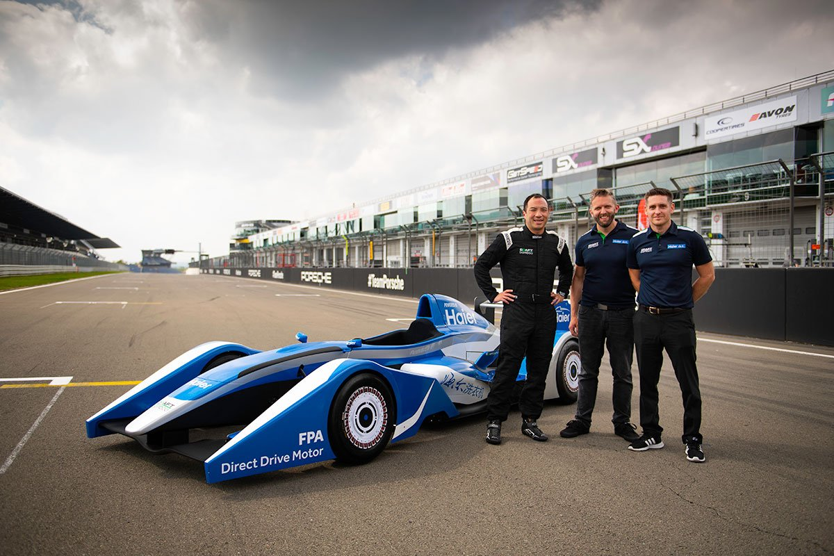 Formula Haier makes on-track debut at the Nurburgring