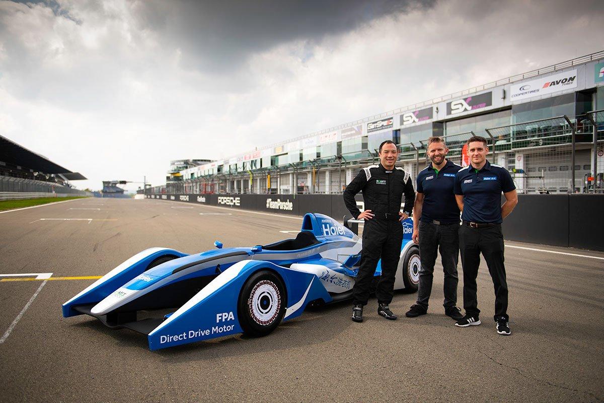 Formula Haier makes on-track debut at the Nurburgring