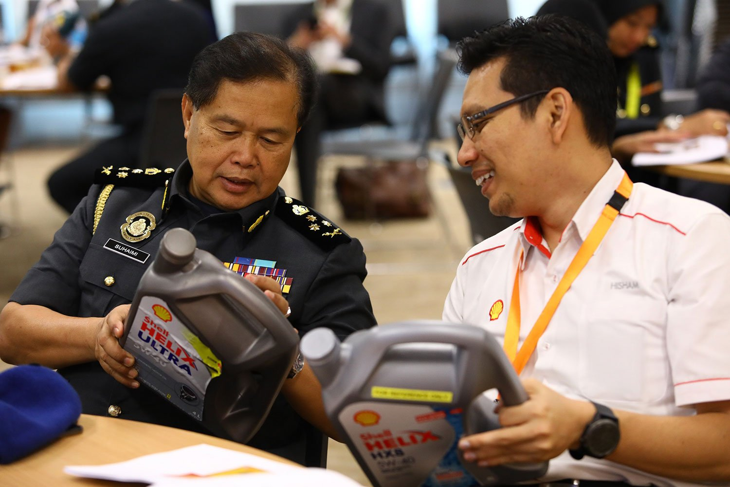 SHELL MALAYSIA STRENGTHENS COLLABORATION WITH ENFORCEMENT AGENCIES TO COMBAT ILLEGAL LUBRICANTS