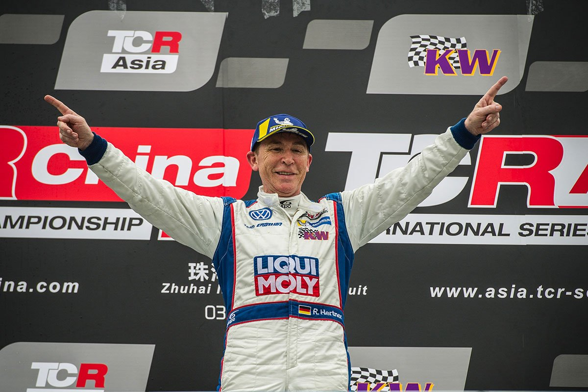 Hertner is TCR Asia Cup Champion