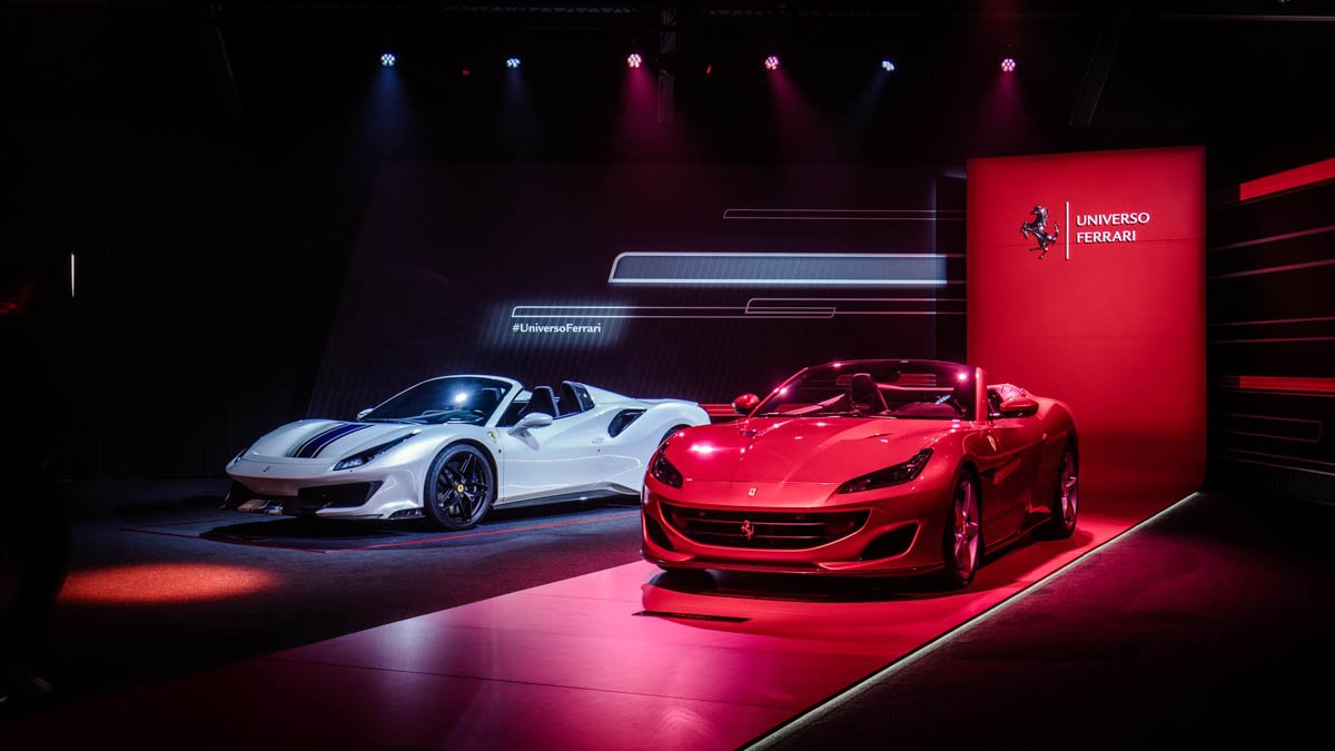 Over 14,000 customers and fans visit Universo Ferrari. Ferrari's unprecedented event comes to an end.