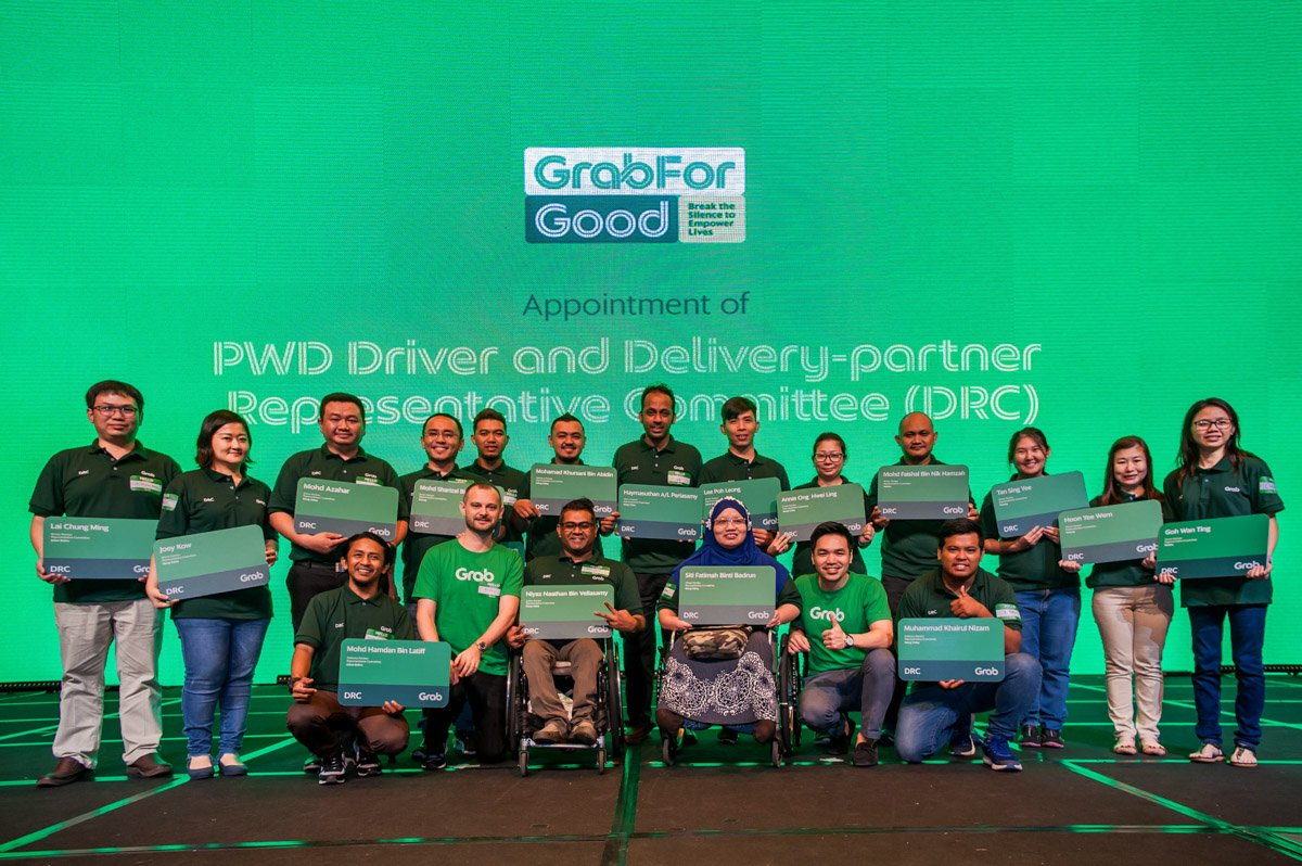 Grab continues to create greater inclusivity for 500 Persons With Disabilities (PWD) in Malaysia