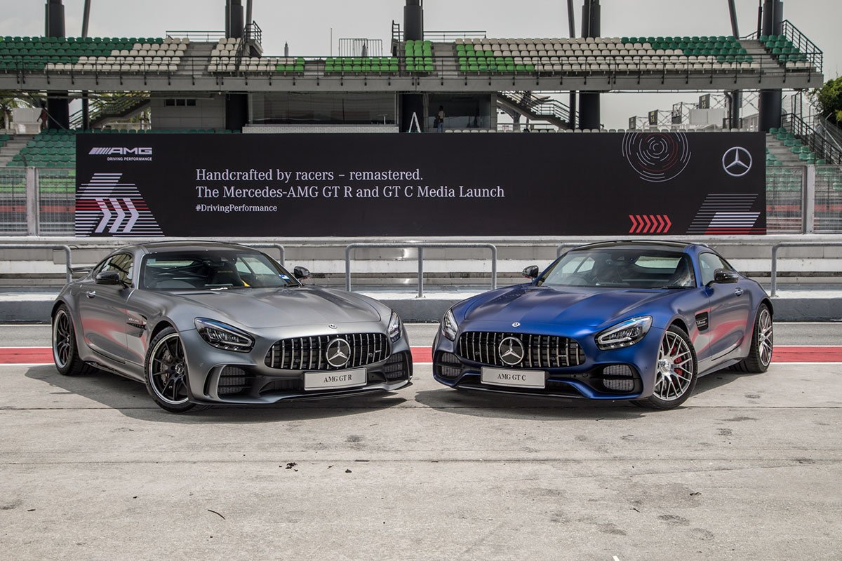 The new generation Mercedes-AMG GT R & GT C