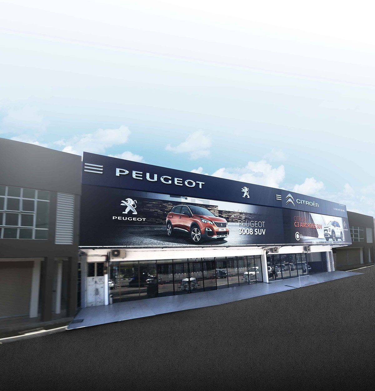 NEW PEUGEOT / CITROËN 3S OUTLET OPENS IN ALOR SETAR
