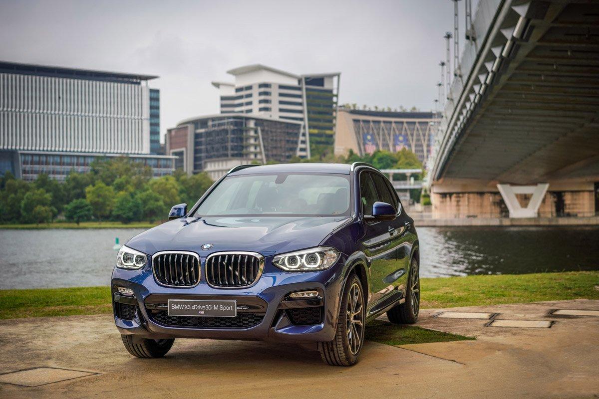 BMW Malaysia unveils the New BMW X3 xDrive30i with M Sport Package.