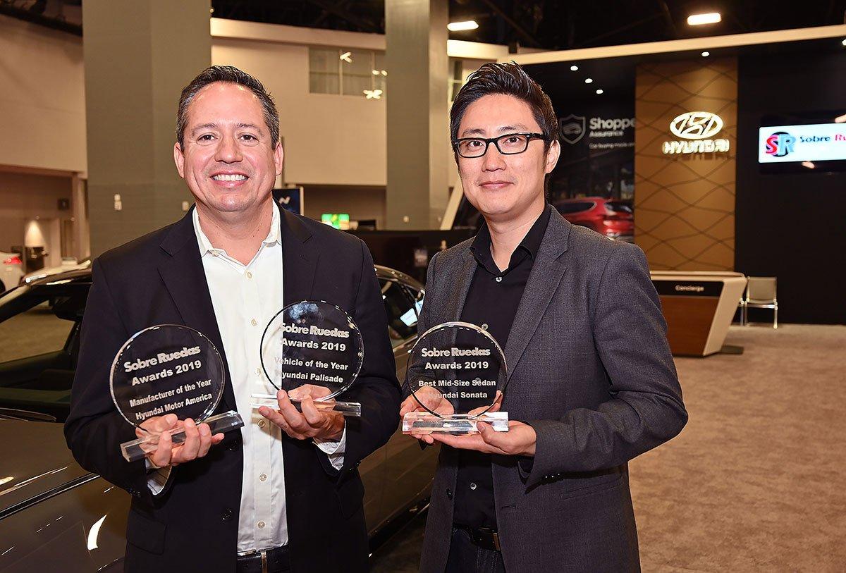 Hyundai Palisade, Sonata, and Hyundai Motor America Win 2019 Sobre Ruedas Awards