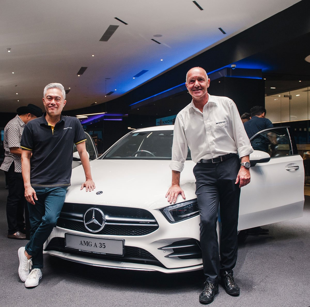 CYCLE & CARRIAGE HOSTS EXCLUSIVE PREVIEW OF AMG A35 SEDAN FOR AMG OWNERS COMMUNITY