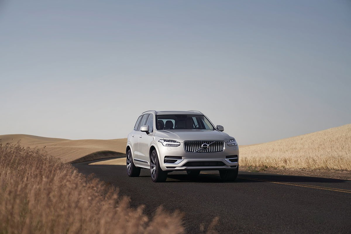 The Volvo XC90 is back with a new feel, refreshed look and a safer ride