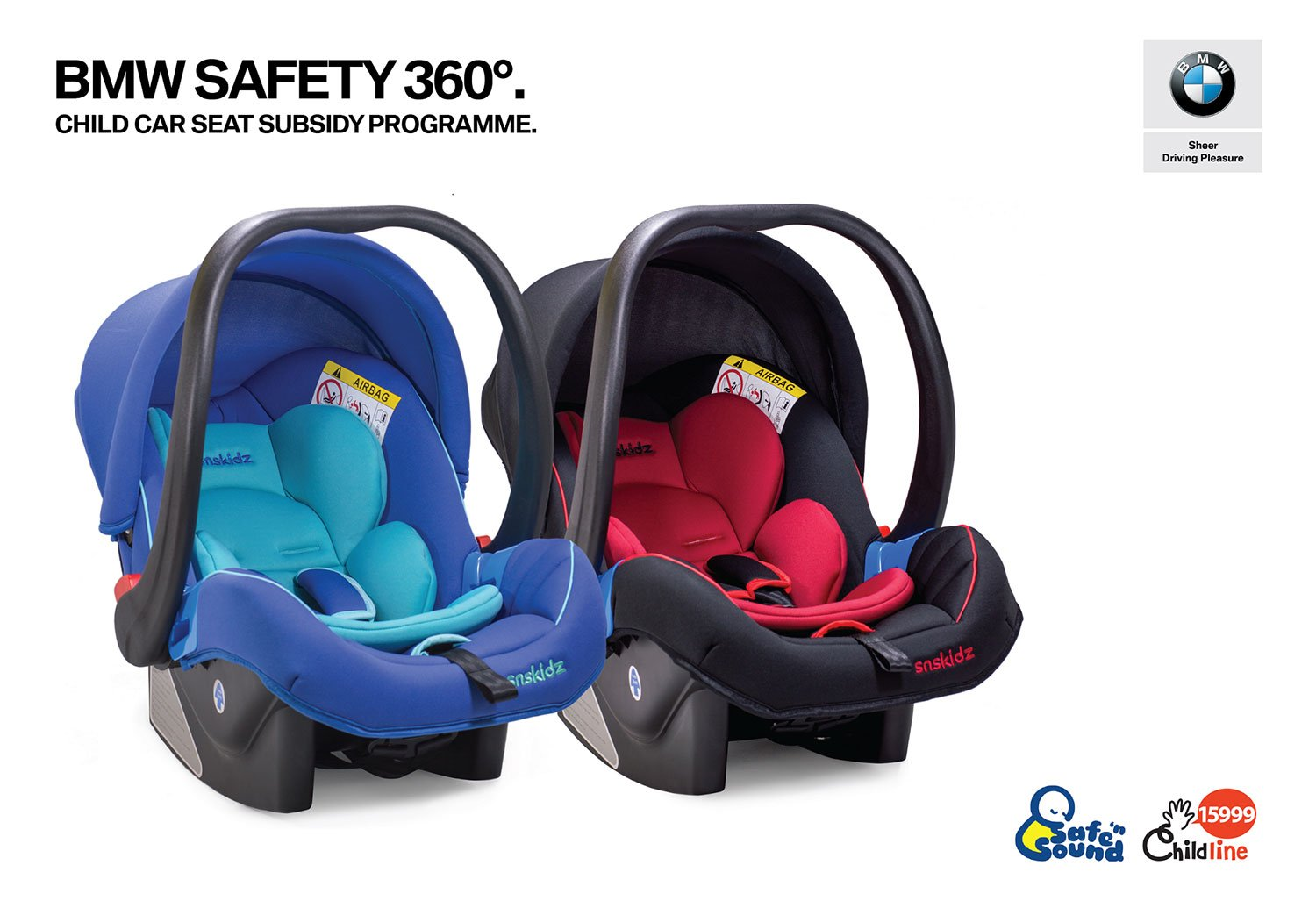 BMW Malaysia, Safe 'n Sound and Childline Foundation Open Registration for Subsidised Infant Carrier Car Seats.