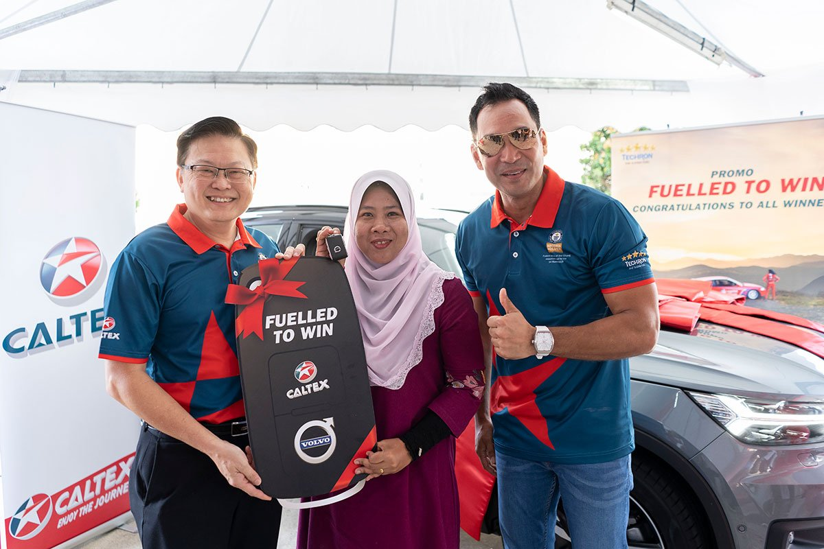 Caltex announces winners of Caltex Fuelled to Win Promotion