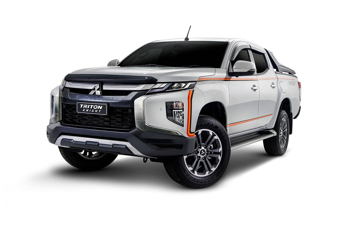 New Mitsubishi Triton Knight Introduced