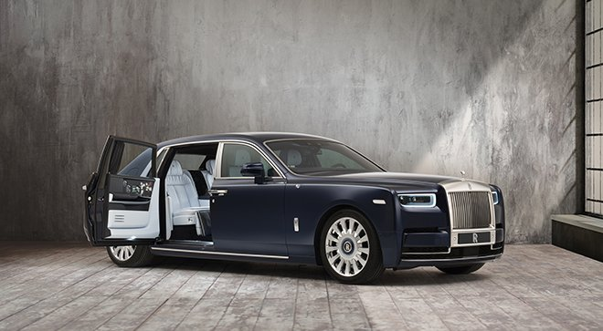 Rolls-Royce Presents One of This Generation's Greatest Phantoms