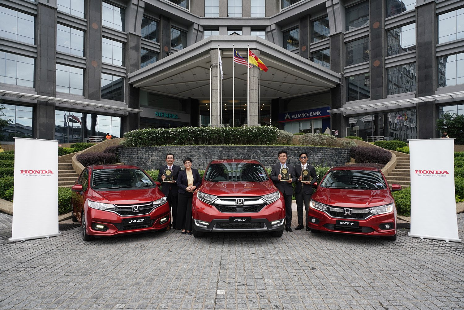 HONDA JAZZ, CITY AND CR-V RANK TOP IN J.D. POWER 2019 MALAYSIA INITIAL QUALITY STUDY