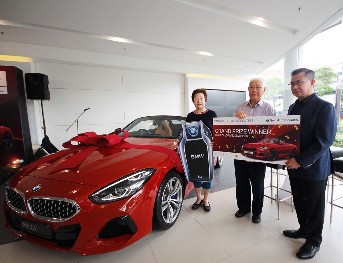 QUILL AUTOMOBILES ANNOUNCES THE WINNER OF ITS BMW Z4 GIVEAWAY