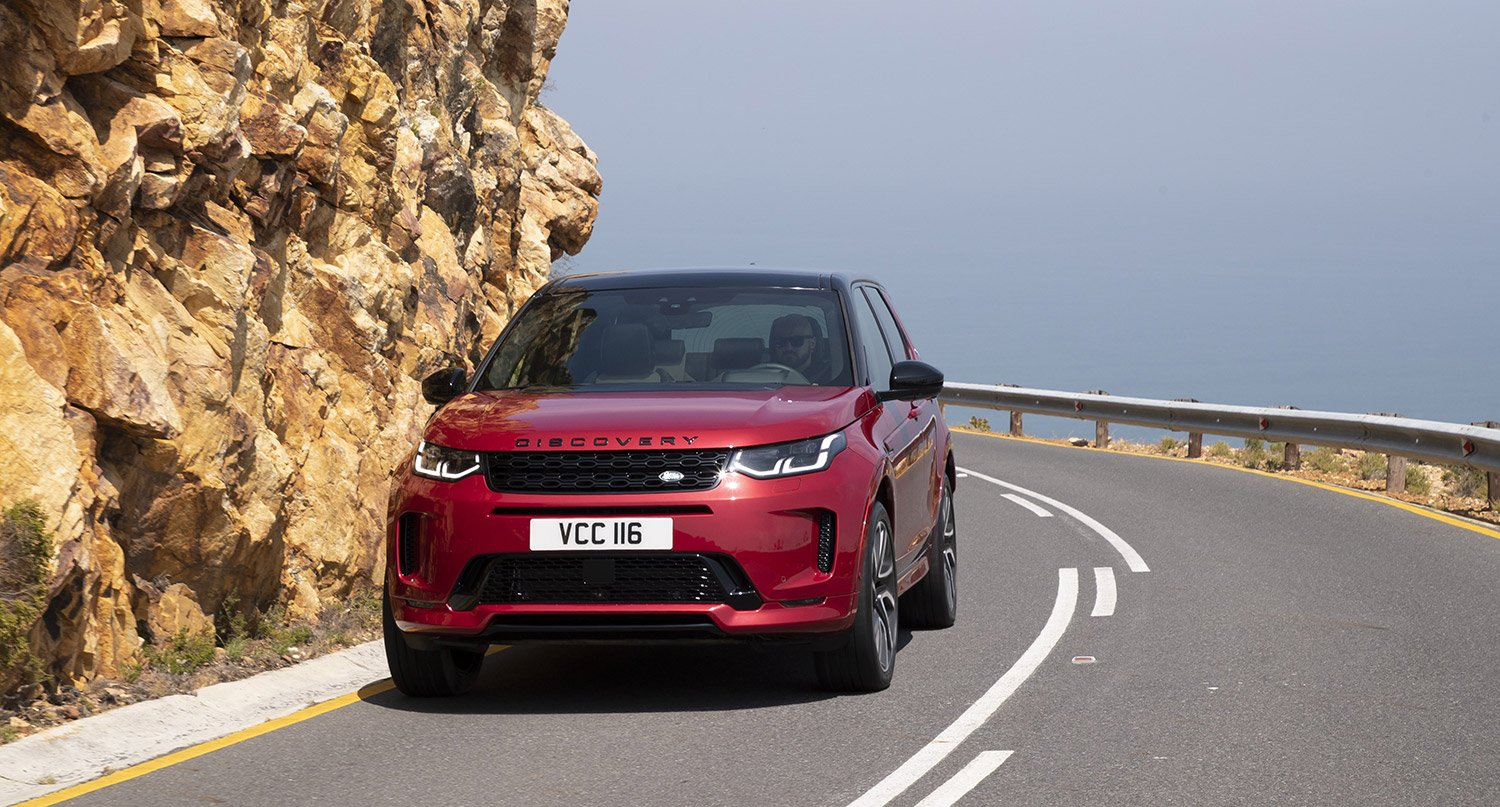 A SMARTER AND SPORTIER DRIVE  WITH THE NEW LAND ROVER DISCOVERY SPORT R-DYNAMIC