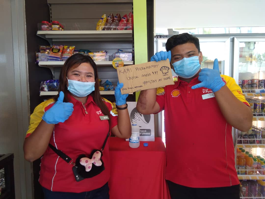 SHELL MALAYSIA TAKES EXTRA STEPS TO ENSURE CUSTOMER SAFETY DURING MOVEMENT CONTROL ORDER