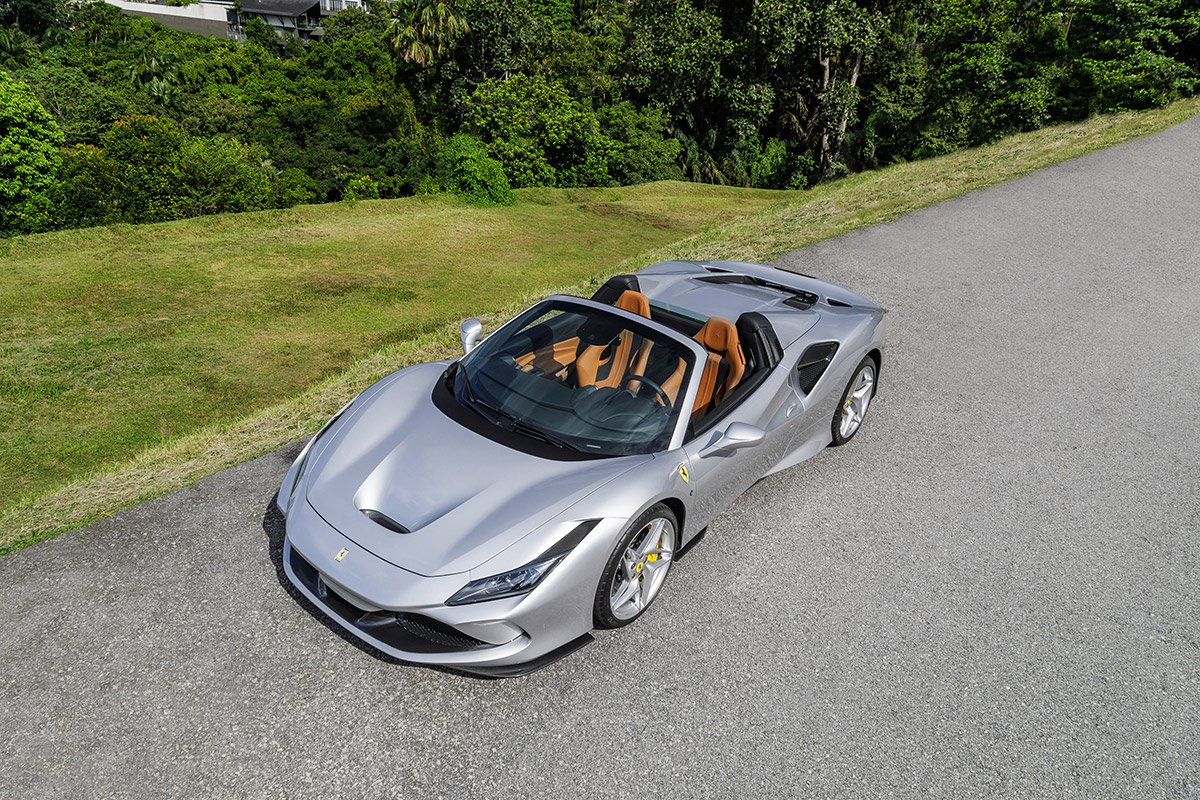 The Ferrari F8 Spider makes its  South East Asia debut in Malaysia