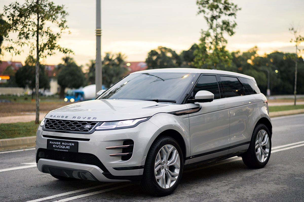 THE ALL-NEW RANGE ROVER EVOQUE HAS ARRIVED