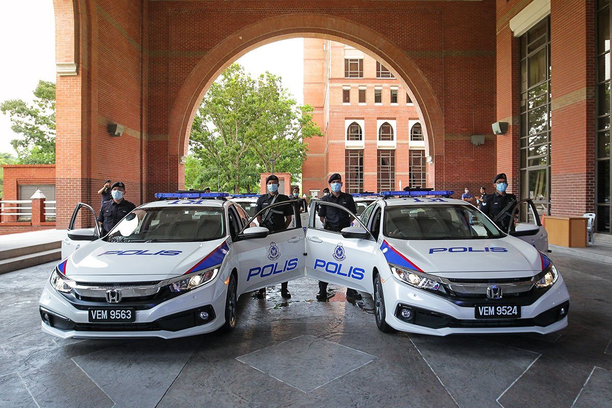 HONDA MALAYSIA PRESENTS 425 UNITS OF NEW CIVIC TO ROYAL MALAYSIA POLICE