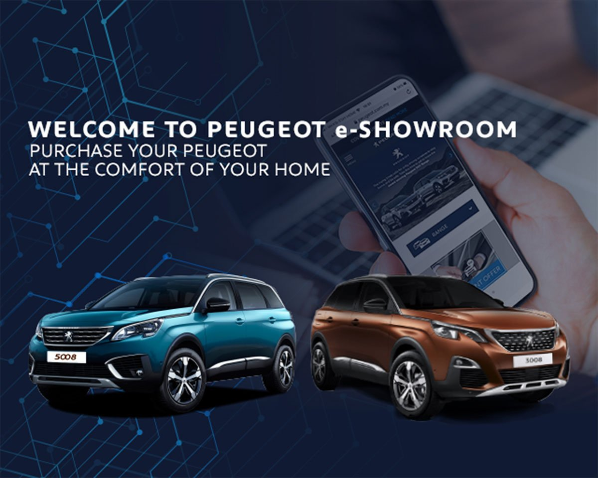 PEUGEOT MALAYSIA LAUNCHES E-SHOWROOM FOR A PLEASANT PURCHASE EXPERIENCE