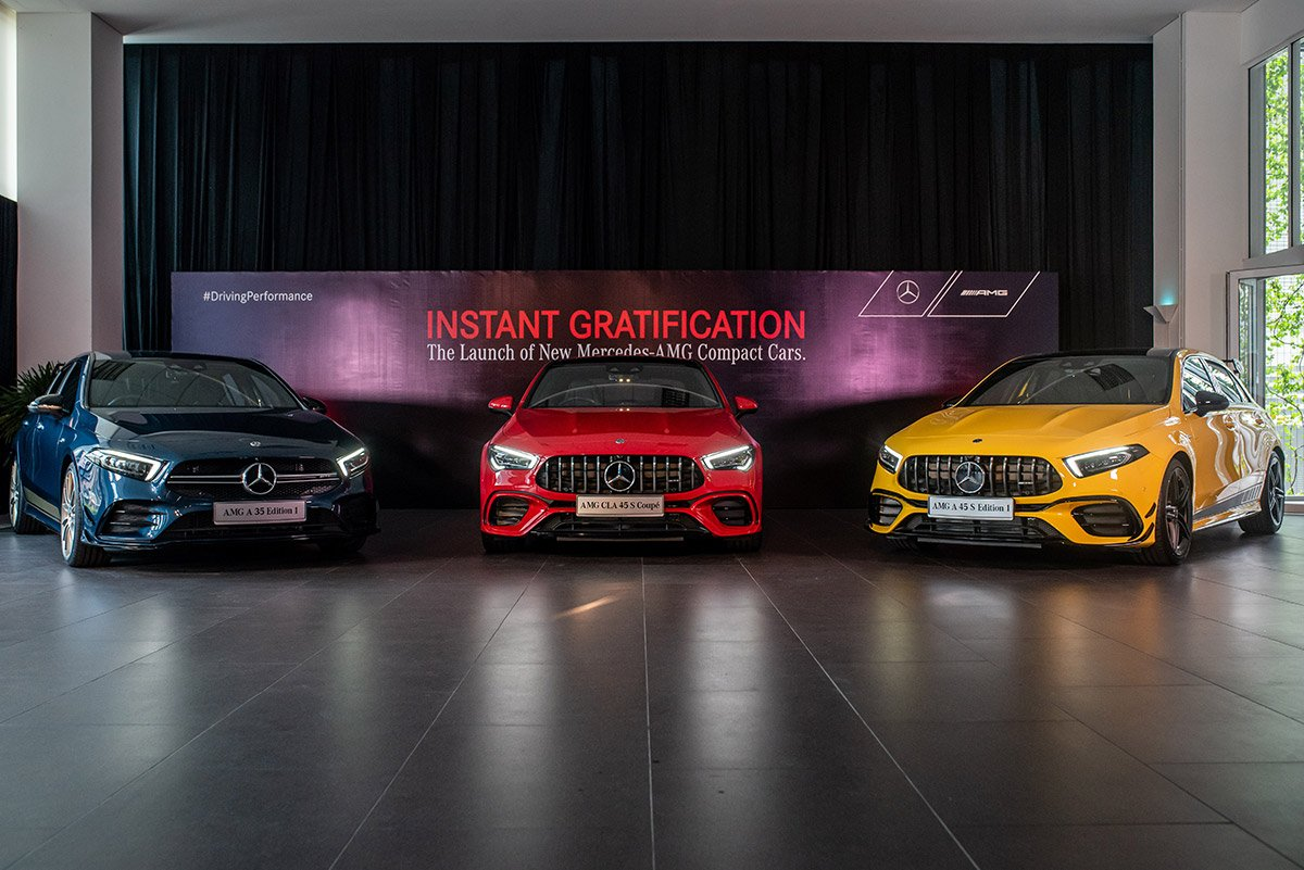 Instant gratification. The new AMGs.