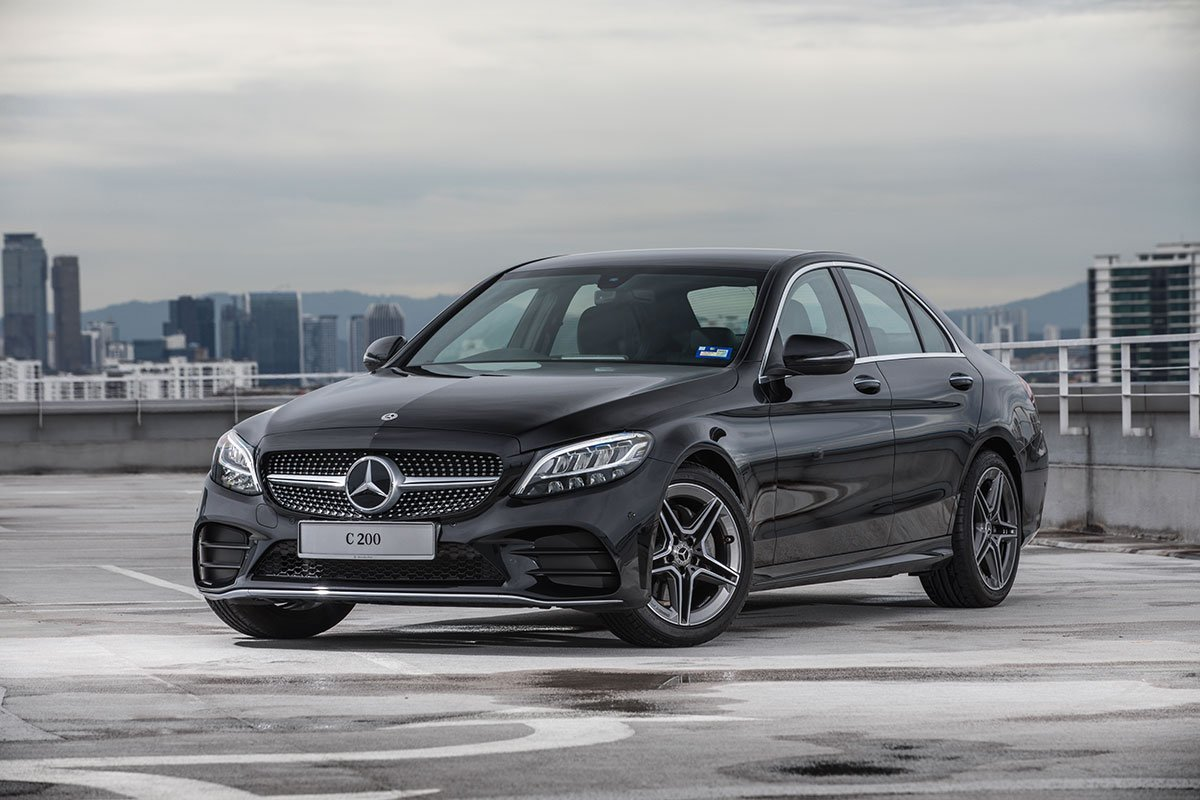 Never stop improving: The new C 200 AMG Line