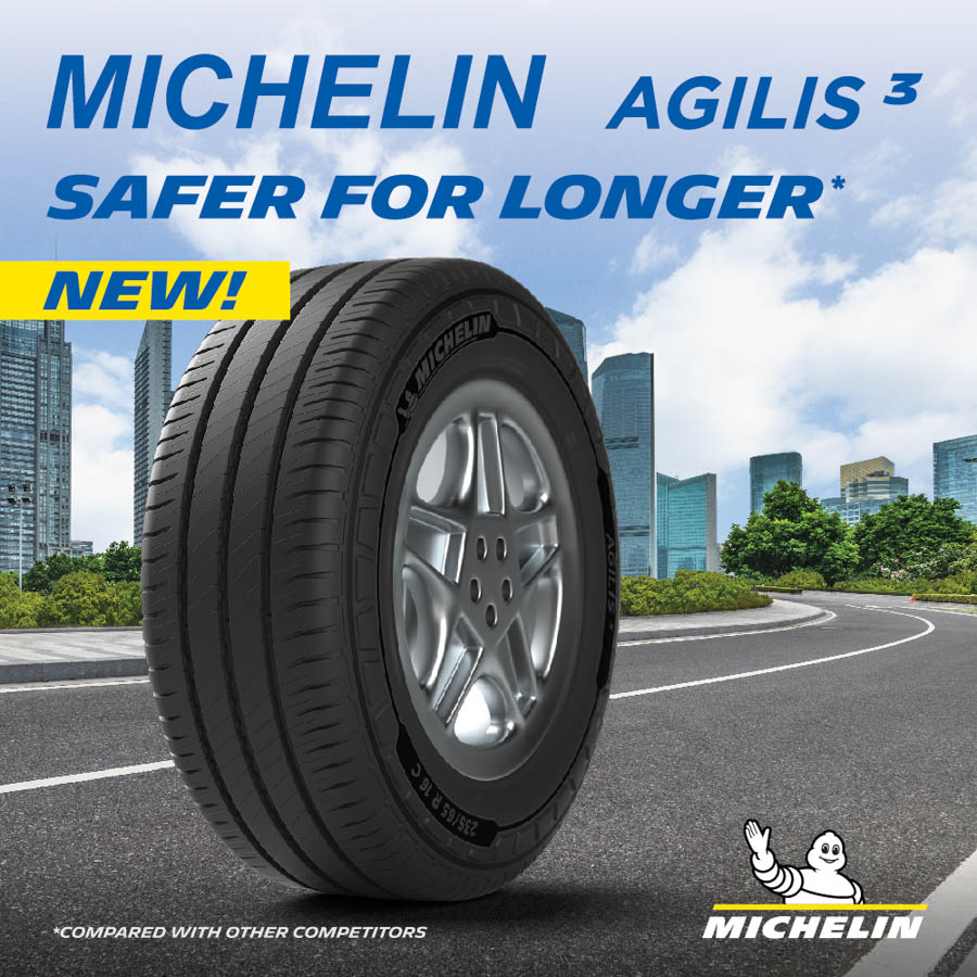 NEW 'MICHELIN AGILIS 3' LAUNCHED TO CAPTURE GREATER COMMERCIAL LIGHT TRUCK TYRE MARKET